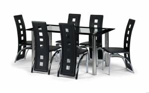 Brescia 6 seater dining set