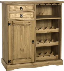 CORONA SIDEBOARD and WINE RACK UNIT