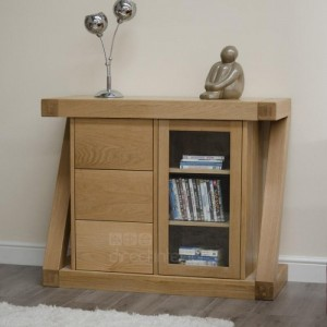 z oak small multi chest sideboard
